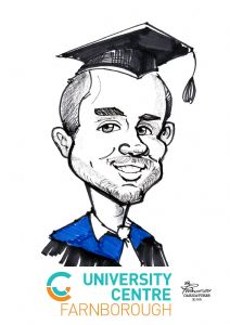 Goldsmiths Graduation Caricature